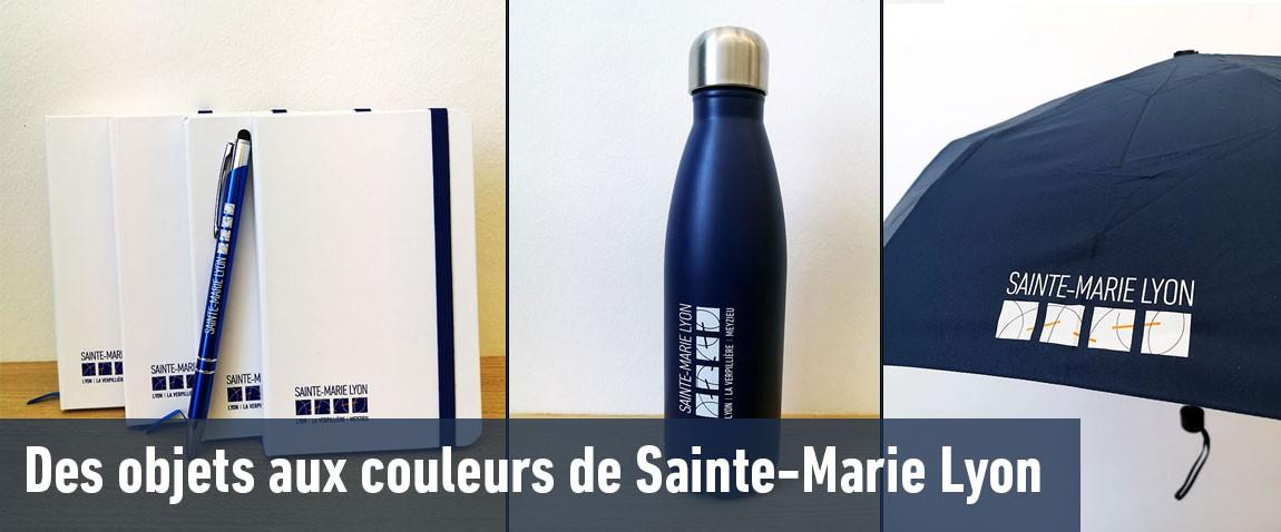 Des objets aux couleurs de Sainte-Marie Lyon